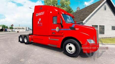 Chivas de la peau pour le camion Peterbilt pour American Truck Simulator