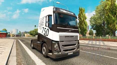 Carbonne, MIDI-pyrénées skin for Volvo truck für Euro Truck Simulator 2