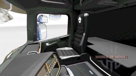 Die Dunkle Linie Exklusives Interieur v2.0 für S für Euro Truck Simulator 2