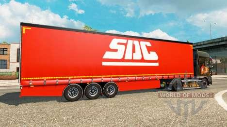 Vorhang Auflieger SDC v2.0 für Euro Truck Simulator 2