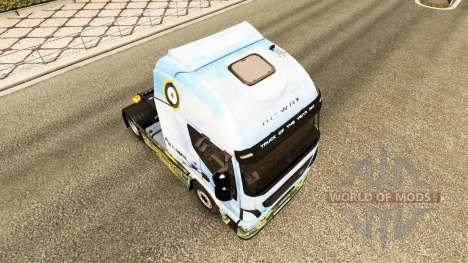 Die Haut der Supermarine Spitfire auf der LKW-Iv für Euro Truck Simulator 2