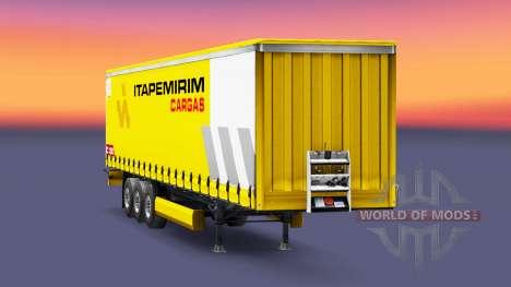 Itapemirim Cargas de la peau pour la remorque pour Euro Truck Simulator 2