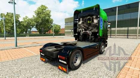 Exclusif peau Métallique pour Scania camion pour Euro Truck Simulator 2