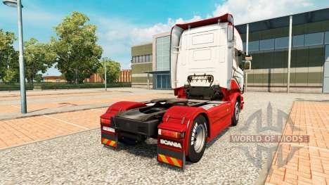 Sarantos skin für Scania-LKW für Euro Truck Simulator 2