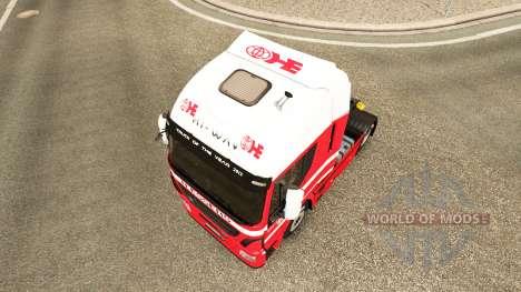 H. Essers-skin für Iveco-Zugmaschine für Euro Truck Simulator 2