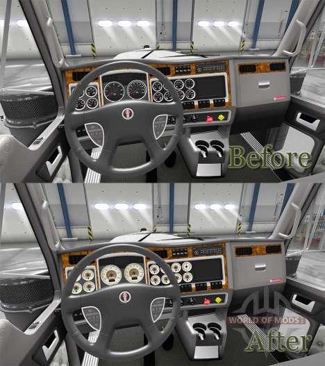 Retro-Geräte haben einen Kenworth W900 für American Truck Simulator