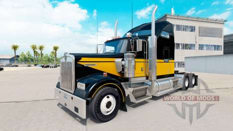 La peau Bandit de Style sur le camion Kenworth W pour American Truck Simulator