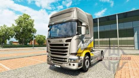 Maroni Transport de la peau pour Scania camion pour Euro Truck Simulator 2