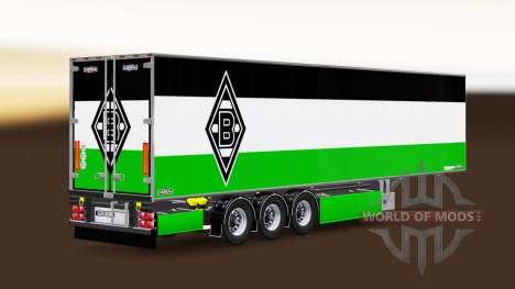Auflieger Chereau Borussia Mönchengladbach für Euro Truck Simulator 2