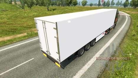 Frigorifique semi-remorque Kogel pour Euro Truck Simulator 2