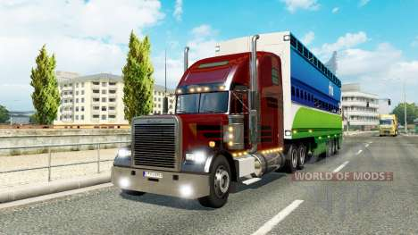 Une collection de camion de transport pour le tr pour Euro Truck Simulator 2