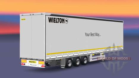 Semitrailer Wielton Your Best Way pour Euro Truck Simulator 2