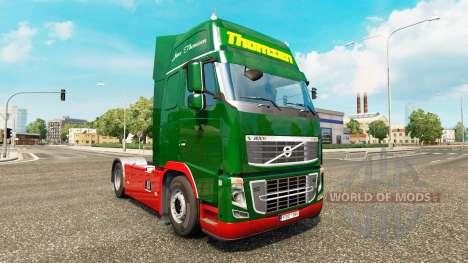 Thomsen peau pour Volvo camion pour Euro Truck Simulator 2