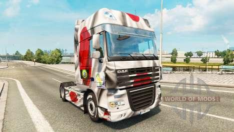 Haut Japao Copa 2014 für DAF-LKW für Euro Truck Simulator 2