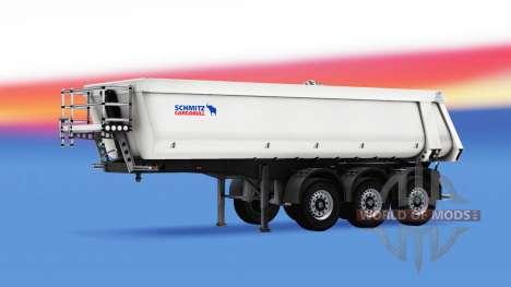 Semi-trailer tipper Schmitz Cargobull für American Truck Simulator