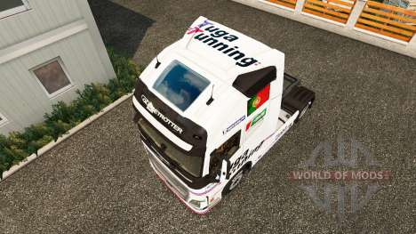 Tuga Préparation de la peau pour Volvo camion pour Euro Truck Simulator 2