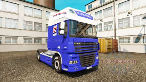 Die P. Solleveld Transport skin für DAF-LKW für Euro Truck Simulator 2