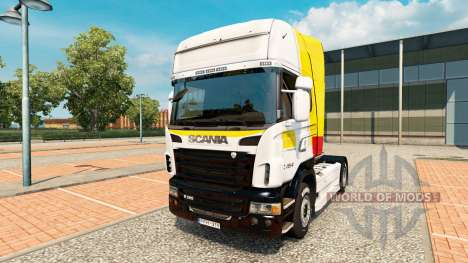 Haut Itapemirim auf Zugmaschine Scania für Euro Truck Simulator 2