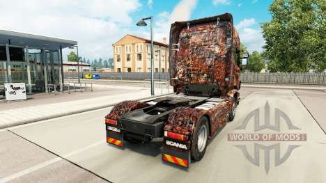 Ferrugem de la peau pour Scania camion pour Euro Truck Simulator 2