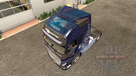 Winter Wölfe skin für Volvo-LKW für Euro Truck Simulator 2