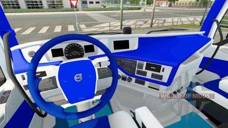 HSV intérieur pour Volvo pour Euro Truck Simulator 2