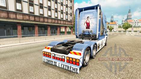 La peau de Lisa Convoi de camions Scania T pour Euro Truck Simulator 2