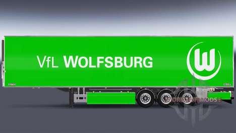 Semi-Remorque Chereau, Le VfL Wolfsburg pour Euro Truck Simulator 2