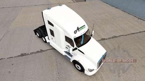 De la peau à Arnold de Transport tracteur Kenwor pour American Truck Simulator