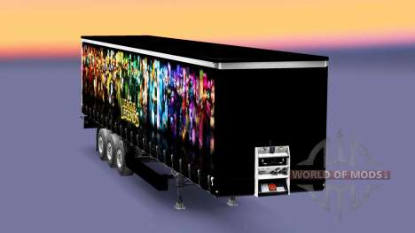 Haut League of Legends-trailer für Euro Truck Simulator 2
