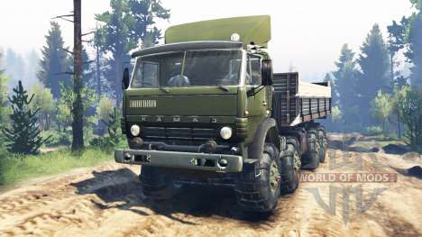 KamAZ-6350 Mustang v5.0 pour Spin Tires