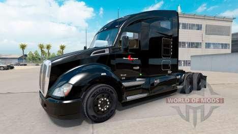 Stevens Transport skin für Kenworth-Zugmaschine für American Truck Simulator
