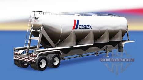 Eine Sammlung von Anhänger mit Ladung für American Truck Simulator
