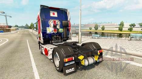 La peau Japao Copa 2014 pour DAF camion pour Euro Truck Simulator 2