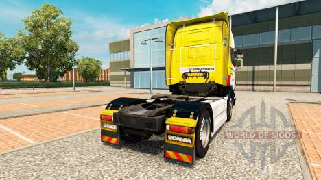 La peau Itapemirim sur tracteur Scania pour Euro Truck Simulator 2