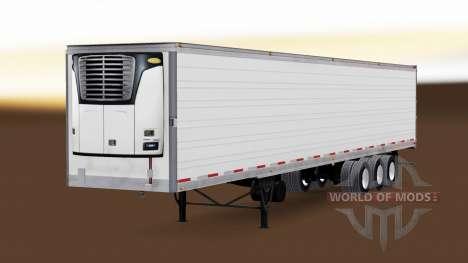 Trois essieux frigorifique semi-remorque pour American Truck Simulator