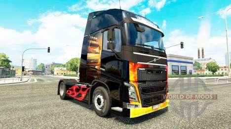 Asphalt-Cowboys Haut für Volvo-LKW für Euro Truck Simulator 2