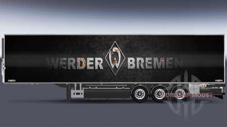 Semi-Remorque Chereau Werder Brême pour Euro Truck Simulator 2