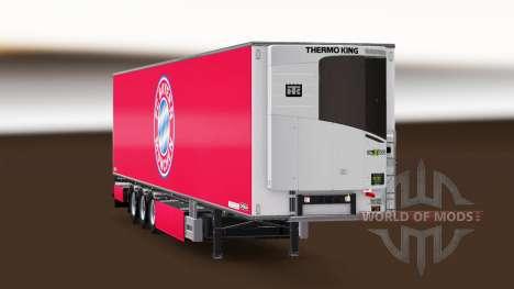 Auflieger Chereau FC Bayern München für Euro Truck Simulator 2