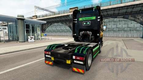 La peau Revada & de Keuster sur tracteur Scania pour Euro Truck Simulator 2
