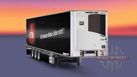 Semi-Remorque Chereau 1. FC Nurnberg pour Euro Truck Simulator 2