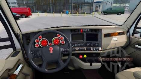 La couleur rouge de l'dispositifs à un Kenworth  pour American Truck Simulator