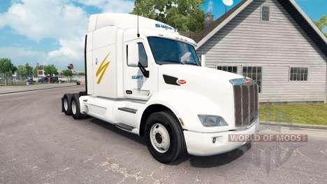 Swift Transport skin für den truck Peterbilt für American Truck Simulator