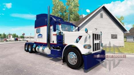 Haut Lowes für den truck-Peterbilt 389 für American Truck Simulator