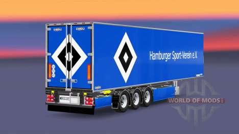 Semi-remorque Chereau Hamburger SV pour Euro Truck Simulator 2