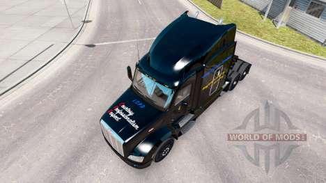 LCPD de la peau pour le camion Peterbilt pour American Truck Simulator
