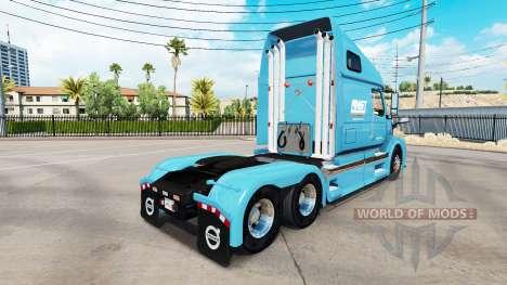 AMST-skin für den Volvo truck VNL 670 für American Truck Simulator