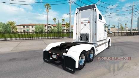 Haut Nordamerika für Volvo-LKW-VNL 670 für American Truck Simulator