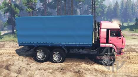 KamAZ-65221 URSS pour Spin Tires
