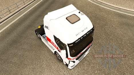 Andre Voß-skin für Iveco-Zugmaschine für Euro Truck Simulator 2