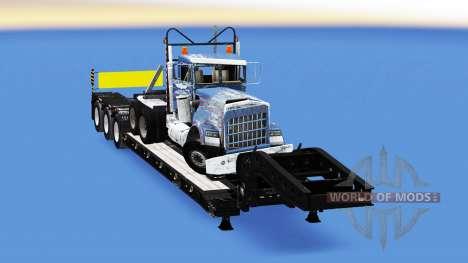 Low sweep mit 20 verschiedenen Lasten. für American Truck Simulator